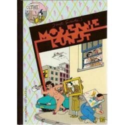 Swarte strips HC Moderne kunst 1e druk 1986