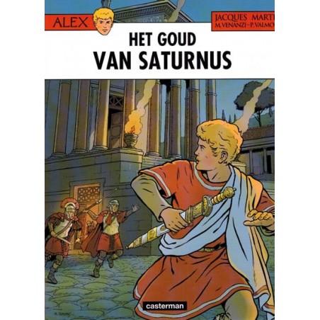 Alex  35 Het goud van saturnus (naar Jacques Martin)