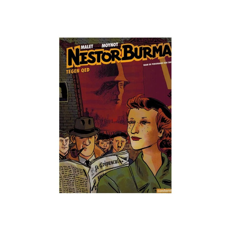 Nestor Burma  11 HC Tegen QED