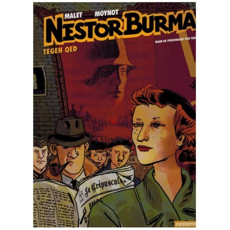 Nestor Burma  12 HC Tegen QED