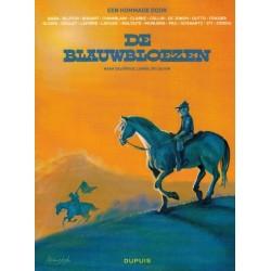 Blauwbloezen  Hommage (naar Salverius, Lambil & Cauvin)