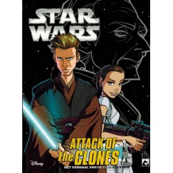 Star Wars  NL manga filmstrip 08 Attack of the clones