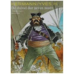 Hermann  strips Integraal HC De duivel der zeven zeeen (Vrije Vlucht)