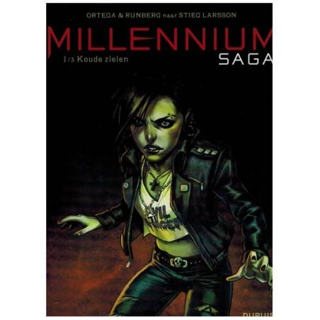 Millennium Saga set (naar Stieg Larsson) deel 1 t/m 3 1e drukken 2016-2019