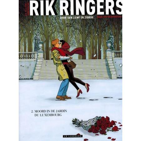 Rik Ringers   Nieuwe avonturen 02 Moord in de Jardin du Luxembourg (naar Tibet & Duchateau)