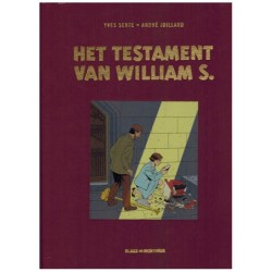 Blake & Mortimer  Luxe HC 24 Het testament van William S. (naar Edgar P. Jacobs)