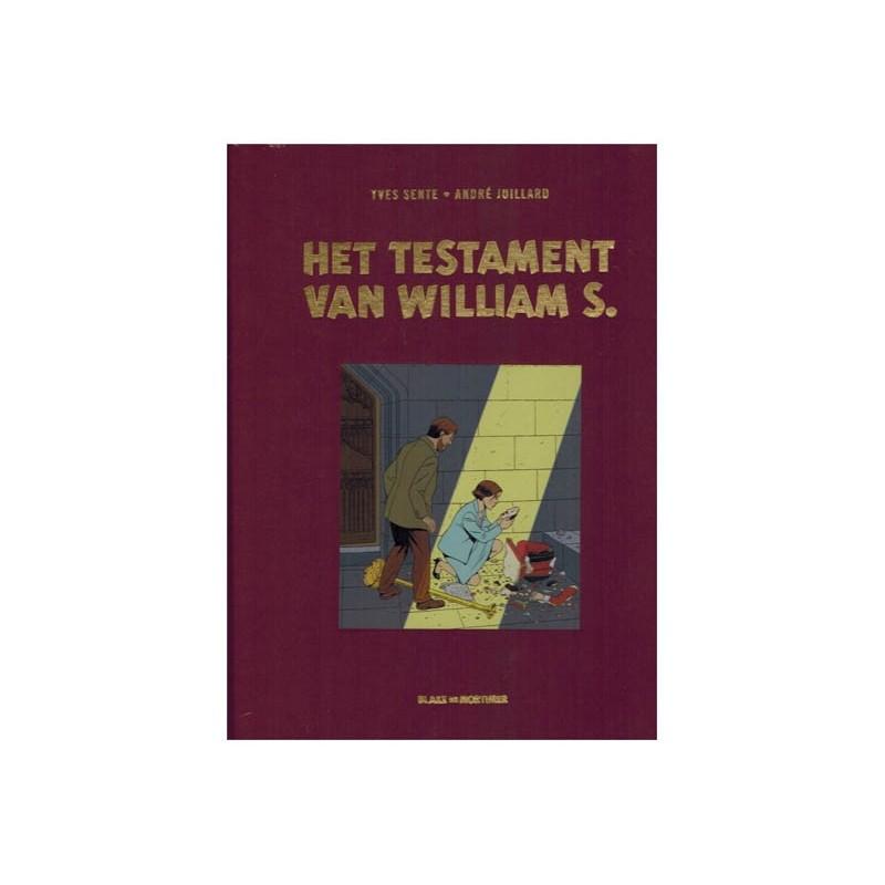 Blake & Mortimer  Luxe HC 24 Het testament van William S. (naar Edgar P. Jacobs)
