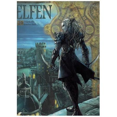 Elfen  10 Zwarte elf, somber hart