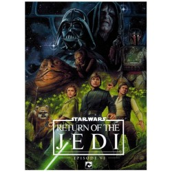 Star Wars  NL filmstrip HC return of je Jedi Episode VI