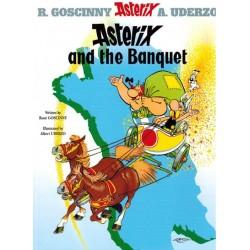Asterix  UK 05 The banquet Engelstalig