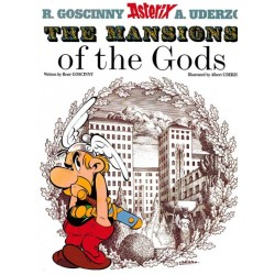 Asterix  UK 17 The mansion of the gods Engelstalig