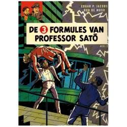 Blake & Mortimer  12 De 3 formules van Professor Sato deel 2