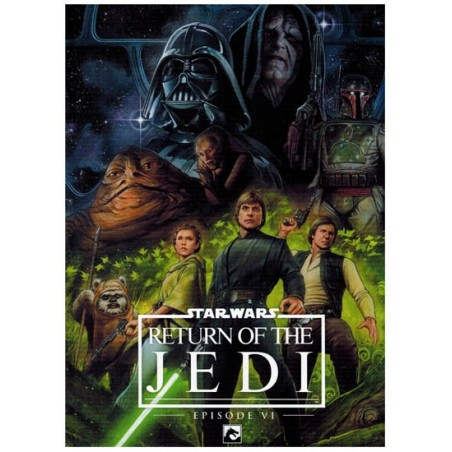 Star Wars  NL filmstrip HC 06 Return of the Jedi
