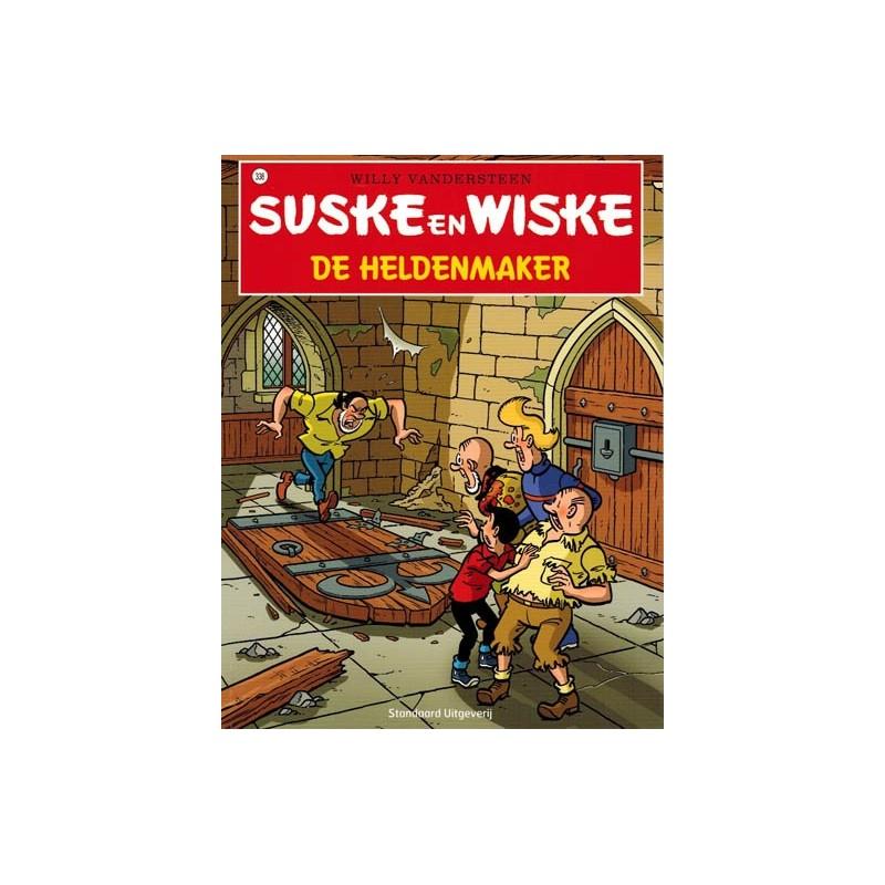 Suske & Wiske  338 De heldenmaker (naar Willy Vandersteen)