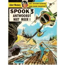 Dan Cooper 11 Spook 3 antwoordt niet meer!