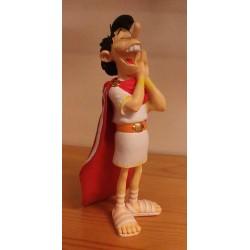 Asterix  beeldje Gracchus Capsonus aka Imbeciel (De lauwerkrans van Caesar)