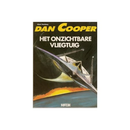 Dan Cooper 36 Het onzichtbare vliegtuig 1e druk 1987