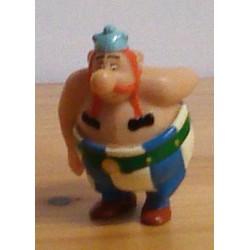 Asterix poppetjes minifiguren Asterix in Amerika Obelix 1997