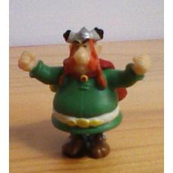 Asterix poppetjes minifiguren Abraracourcix 1999