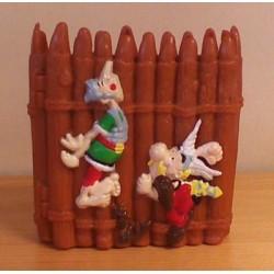 Asterix poppetje pennenbakje Asterix 1999