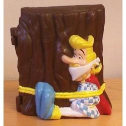 Asterix poppetje pennenbakje Assurancetourix 1999
