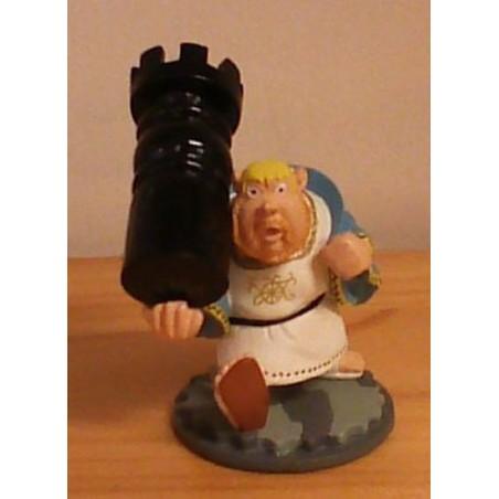 Asterix poppetje schaakstuk Toren Romein 2005
