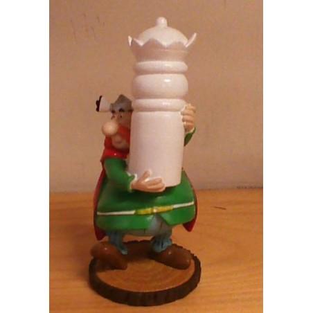 Asterix poppetje schaakstuk Koning Abracourcix 2005