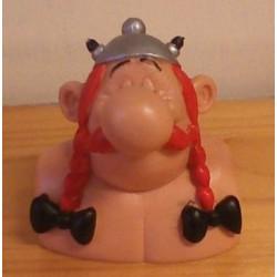Asterix poppetje Obelix borstbeeld 1991