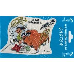 Guust auto sticker Ne pas deranger!... 1990