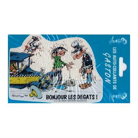 Guust Flater auto sticker Bonjour les degats! 1990