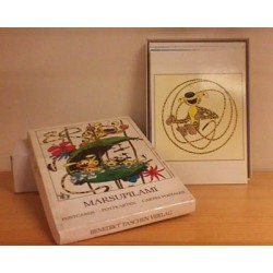 Marsupilami kaarten set (8 postkaarten + enveloppen) 1987