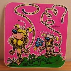 Guust Flater sticker Verliefde Marsupilami