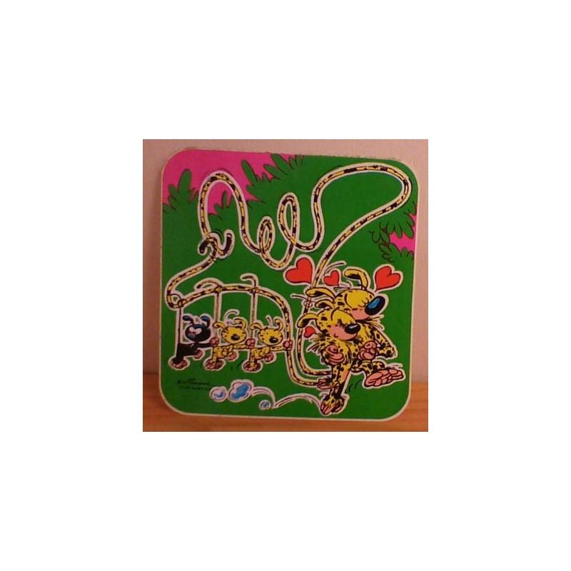 Guust Flater sticker Marsupilami familie