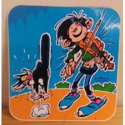 Guust Flater sticker Guust speelt viool