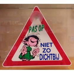 Guust Flater autoruit hanger 2 Pas op niet zo dichtbij 1991