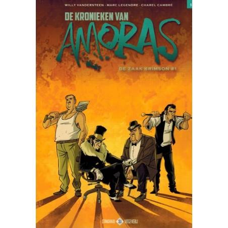 Suske & Wiske   Amoras 07 Kronieken 01 De zaak Krimson deel 1 (naar Willy Vandersteen)