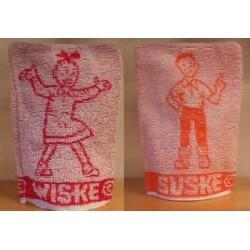 Suske & Wiske Washand setje z.j,