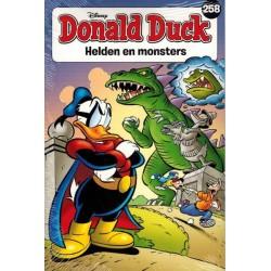 Donald Duck  pocket 258 Helden en monsters