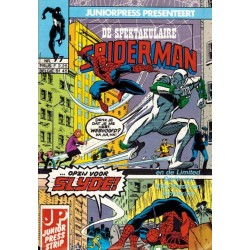 Spektakulaire Spiderman 077 Opzij voor Slyde! 1986