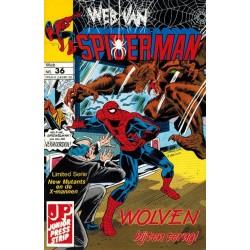Web van Spiderman 036 Wolven bijten terug 1989