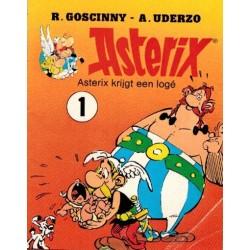 Asterix reclameboekje Gala koffie 01 Asterix krijgt een loge 1985
