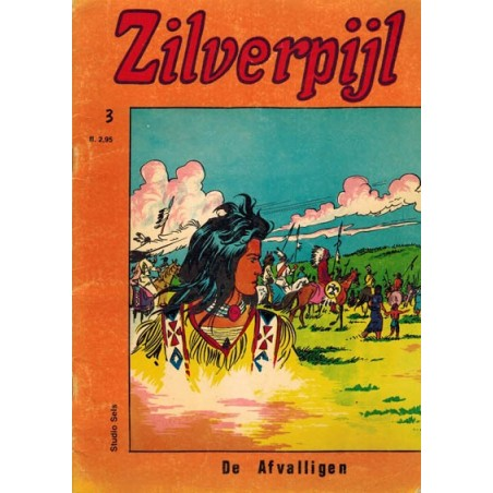 Zilverpijl setje Nooitgedacht % deel 1 t/m 3 1e drukken 1976