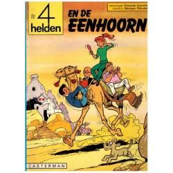 Vier (4) helden 16 % De eenhoorn 1e druk 1980