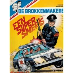 Brokkenmakers 12 Een super smeris 1e druk 1986
