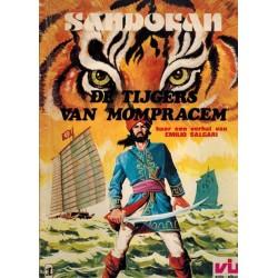 Sandokan set deel 1 t/m 4 1e drukken 1977-1978