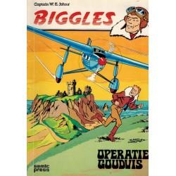 Biggles SE02 Operatie goudvis 1e druk 1978