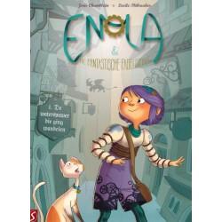 Enola & De fantastische fabeldieren 01 De waterspuwer die ging wandelen