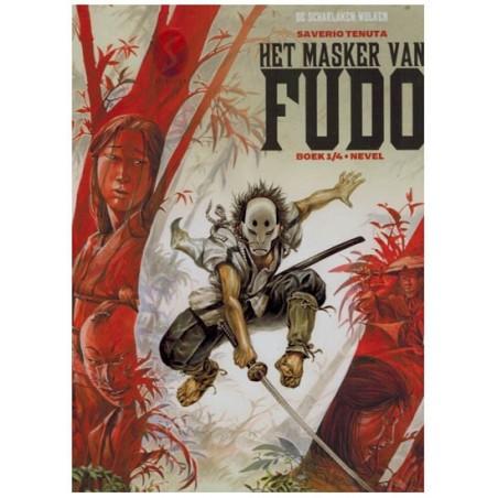 Legende van de Scharlaken wolken Het masker van Fudo 01 Nevel HC