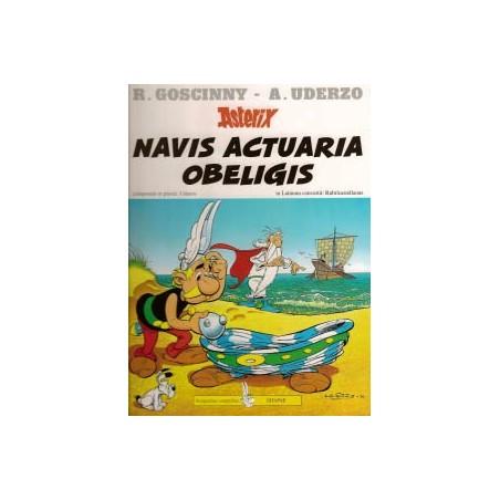 Asterix  Latijn 21 Navis Actuaria Obeligus HC Beproeving
