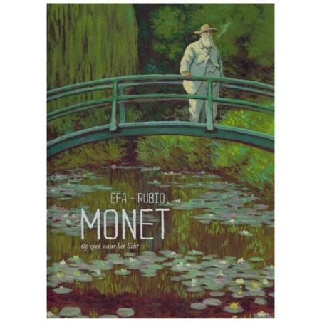 Efa strips HC Monet Op zoek naar het licht